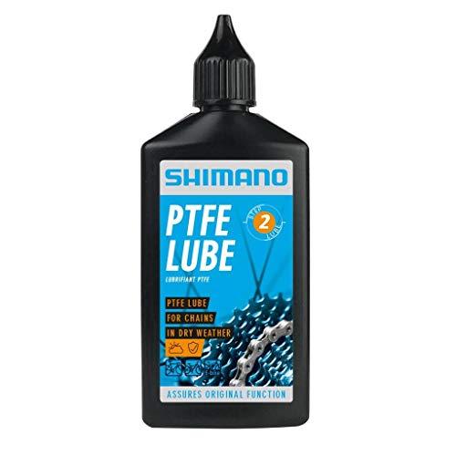 SHIMANO Lubrificante PTFE LUBE Dry Weather Step 2, 100 ml, codice LBPT1B0100SA