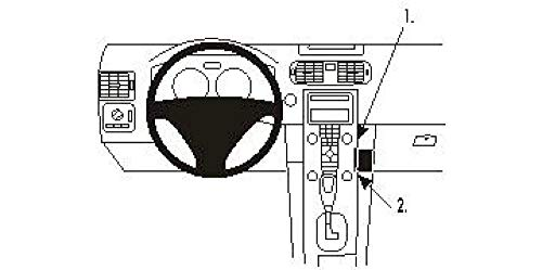 Brodit ProClip 853361 Staffa per Auto ad Incastro, Angled Mount