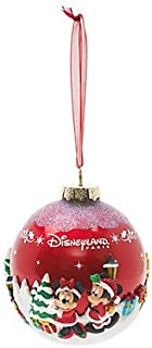 Disneyland Paris Mickey and Friends, Red Christmas, Decoration, Official Disney