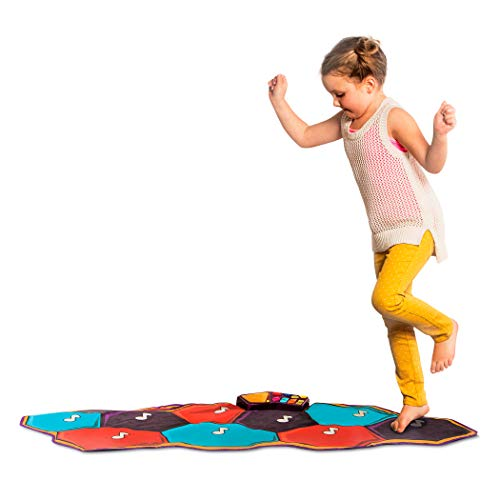 B. toys by Battat Floor Piano Mat – Electronic Dance Floor Keyboard for Kids – Musical Playmat...