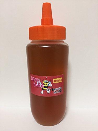 秋の百花蜂蜜 500gチューブ入り 純粋 国産 生 はちみつ 非加熱 非加糖 長野県産 信州産