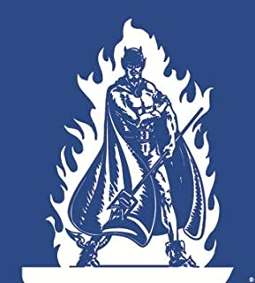 2 Inch Devil Logo Decal Duke University Blue Devils Removable Wall Sticker Art NCAA Home Room Decor 2 1/4 Inches Square