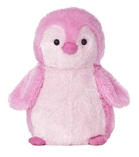 Aurora World Destination Nation Pink Penguin Plush, 12'