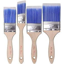 Image of Bates Paint Brushes - 4...: Bestviewsreviews