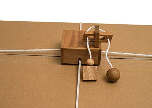 ROMBOL Geschenkesafe – Kreatives Geduldsspiel als Geschenkverpackung für Erwachsene und Kinder, Modell:1 - 4