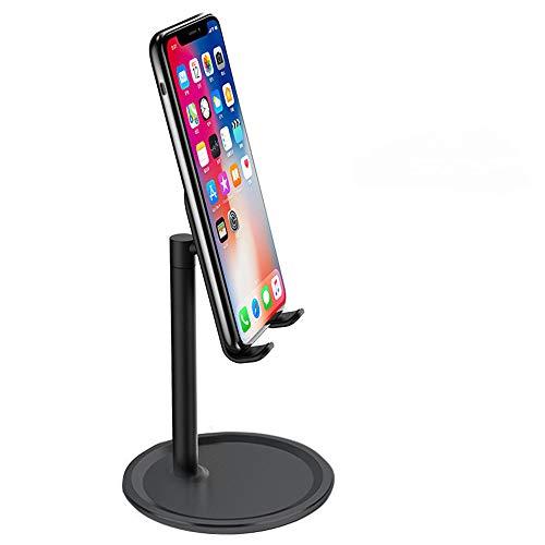 Soporte de escritorio U/A, soporte de escritorio para tableta, ajustable, compatible con iPad Mini iPhone 12 11 Pro Max XR XS 8 7 6S SE 2020 Samsung S20 S10 A21s A71 A51 Huawei