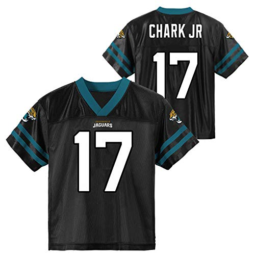 Outerstuff DJ Chark Jacksonville Jaguars #17 Youth 8-20 Red Home Player Jersey (8)
