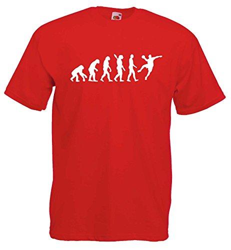 Handball Herren Evolution T-Shirt WM Sport Shirtrot-L