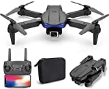 JJDSN Dron WiFi FPV con cámara 4K HD, cuadricóptero RC de Video...