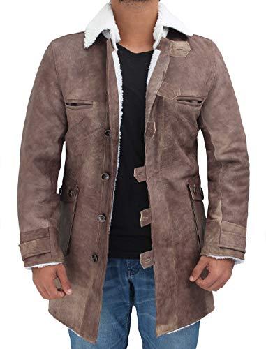 Leather Bomber Jacket Mens Canada