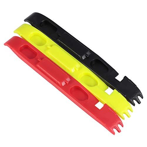 BESPORTBLE 3 Stück Fahrradreifenhebel Bunte Fahrradreifen Reparaturwechselhebelöffner Fahrradreifen Stemmeisen Werkzeuge