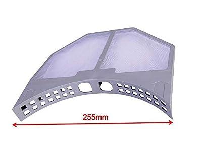 LAZER ELECTRICS Premium Quality Fluff & Lint FILTER For Hotpoint TVM570 TVM572 VTD00 VTD20 VTD60 Models Using 255mm Filter