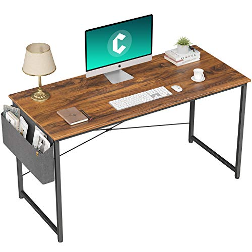 Computer Desk - Home Office Writing Study Desk, Modern Simple Style Laptop Table with Storage Bag