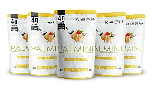 Palmini Low Carb Angel Hair | 4g of Carbs | As Seen On Shark Tank (12 Ounce - Pack of 6)