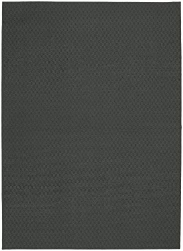 Garland Rug Town Square Rug, 5-Feet by 7-Feet, Cinder Gray