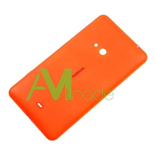Nokia Lumia 625 copribatteria originale arancione Battery Cover batteria vano coperchio batteria Back Door alettaper Lid