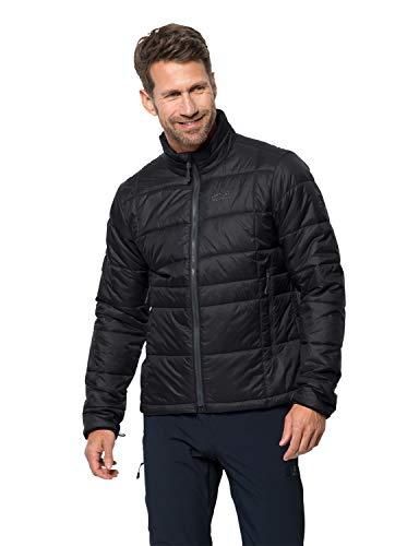 Jack Wolfskin Herren Argon Jacket M Wetterschutzjacke, Black, L