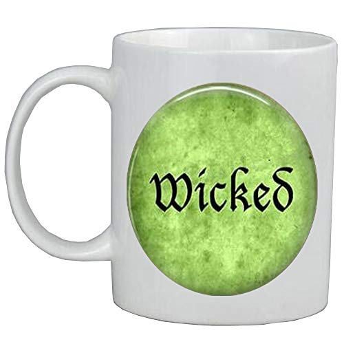 Taza de caf con disfraz de Halloween - Wicked-Wicked Mug-Wicked Coffee Mug - Witchy Woman-Witch Jewelry,,AS030