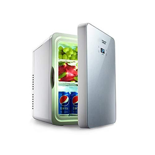 L&K Réfrigérateur Compact À Double Cœur pour Le Refroidissement Et Le Chauffage -9 ° C-65 ° C, 22 L De Grande Capacité, avec Panneau D'Affichage De La Température, Réglage De La Température