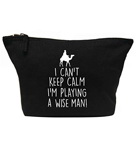 Flox Creative Trousse de maquillage Can't Keep Calm Playing Wise Man