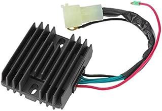 Anngo Voltage Regulator Replace Mercury 75-90 HP 4 Stroke Marine Yamaha 80-100HP Outboard 2000 2001 2002 2003 2004 2005 804278A12 804278T11 67F-81960-12-00 67F-81960-11-00 67F-81960-10-00