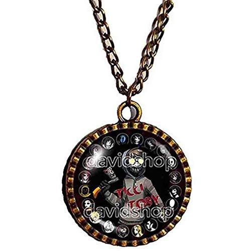 Creepypasta Ticci Toby Necklace Pendant Fashion Jewelry CREEPY PASTA Cosplay Chain Cute