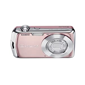 Casio Exilim EX-S5 10MP Digital Camera with 3x Optical Zoom and 2.7 inch LCD (Pink)