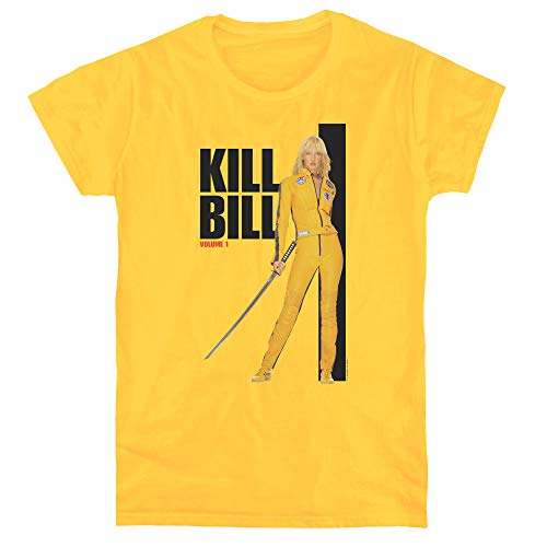 Kill Bill Yellow Suit Poster Women's T Shirt, Small
