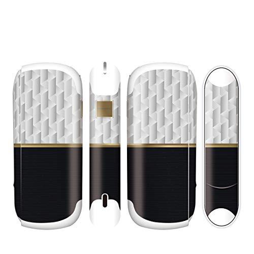 電子たばこ タバコ 煙草 喫煙具 専用スキンシール 対応機種 iQOS3 アイコス3 Graceful Gold デザイン 08 Graceful Gold 21-iq08-2252