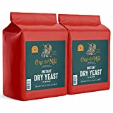 A YEAST THAT WILL RISE TO THE OCCASION: Enjoy baking your favorite breads, doughs, bagels, cakes, and croissants in just half the time! Our rapid rise yeast is carefully milled into the finest granules, enabling it to be easily mixed right into the i...