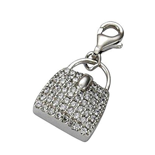 KISMA Schmuck Charms Anhänger Tasche 925 Sterling Silber Charm KIC0118-011