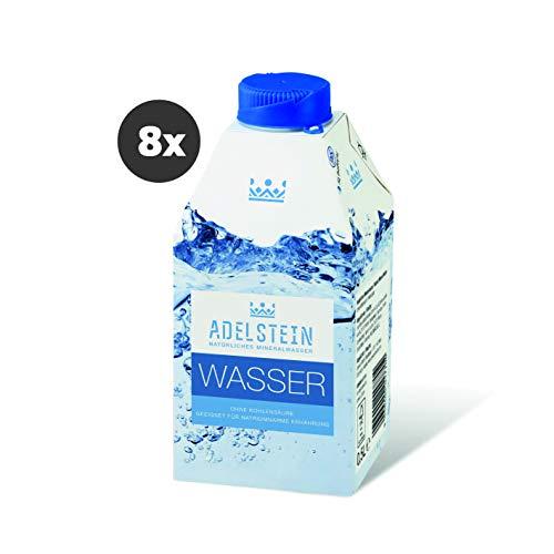 Adelstein Mineralwasser naturell One-The-Go Verpackung 8x 0,5l