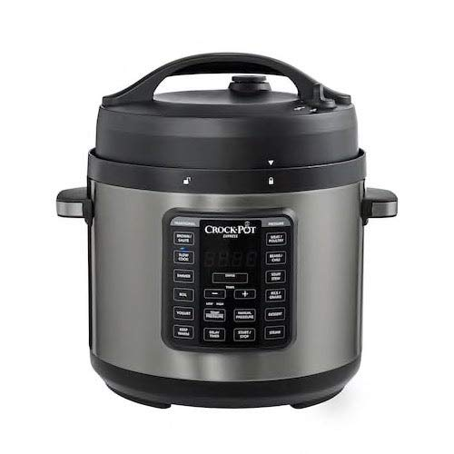 Crock-Pot Express 6-Quart Easy Release Multi-Cooker, Stainless Steel