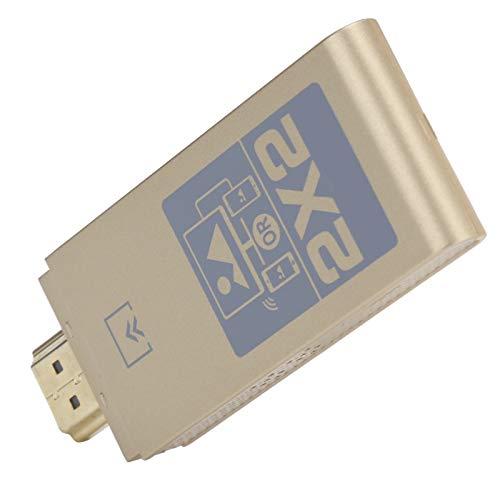Weikeya En línea Monitor Adaptador, -10-55°C 0.5m HDMI Interfaz 5V/1a Displayport Monitor Emulador con Abdominales