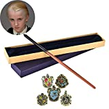 La Noble colección Harry Potter Film Set Movie Toy PVC Toy Wand Wandard Wand Wand con réplica Ollivanders Wand Box,C