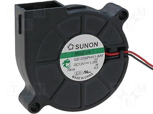Sunon Radial Lüfter 50x50x15mm MF50151V1-A99 DC 12V 5000 U/min 40dBA Vapolager 2 Litzen