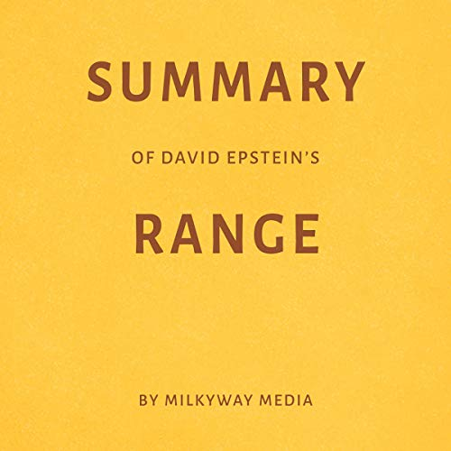 『Summary of David Epstein's Range』のカバーアート