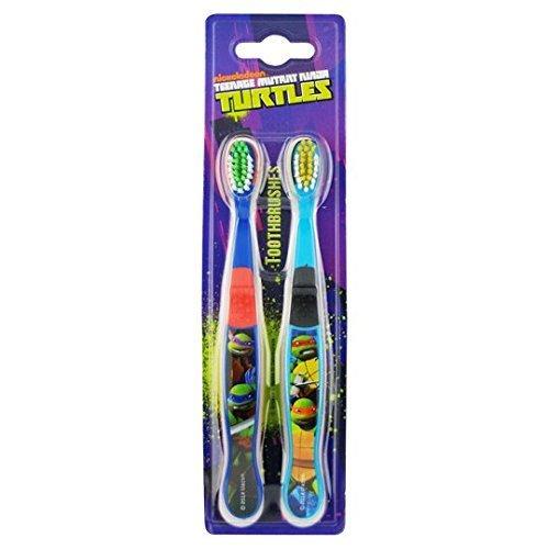 Teenage Mutant Ninja Turtles 1607 Double brosse à dents