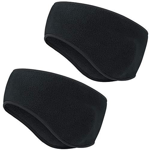 HASAGEI Stirnband Winter Headband Kopf Band Sport Bandana Ear Warmers Sport Ohrenschützer Thermal Stirnbänder elastisch für Damen und Herren zum Joggen Laufen Wandern Radfahren und Motorradfahren
