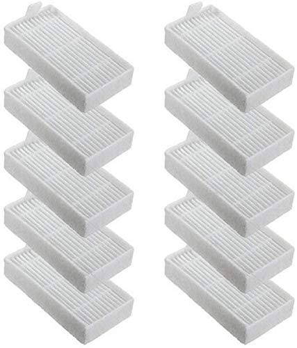 DONGYAO Filtro lateral principal cepillo piezas de repuesto para ILIFE A4 A4S A6 Robot Floor Sweeping Vacuum Accesorios para aspiradora (Color: Filtro)