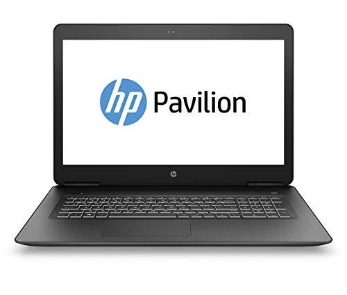 HP Pavilion 17-ab404ng 43,94 cm (17,3 Zoll Full HD IPS) Gaming Notebook (Intel Core i7-8750H, 16GB RAM, 256GB SSD, 1TB HDD, Nvidia GeForce GTX 1050Ti 4GB, Windows 10 Home 64) schwarz (Generalüberholt)