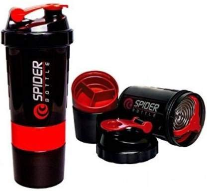 JAYBEE Spider Protein Shaker for Gym – 500 ml