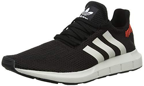 Adidas Swift Run, Zapatillas para Hombre, Negro (Core Black/Footwear White/Grey 0), 45 1/3 EU
