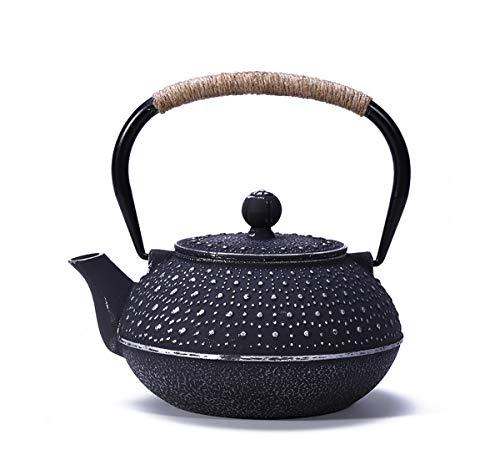 Japonés caldera tetera de estilo, japonés moldeada caldera de té Tetera de...