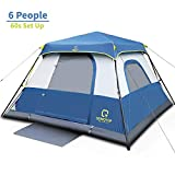 OT QOMOTOP Tents, 6 Person 60 Seconds Set Up...