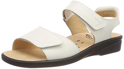 Ganter SONNICA-E, Damen Offene Sandalen mit Keilabsatz, Weiß (Weiss), 44 EU (9.5 UK)