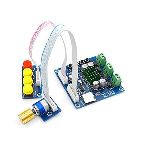 Wnuanjun 1 stück Bluetooth Digital Power Verstärker Audio Board 2x30w 2.0 Schallverstärker mit Volumeneinstellung Potentiometer-Unterstützung TF