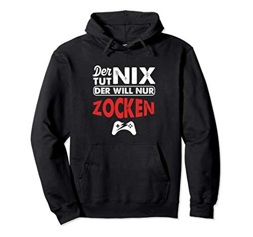 Der Tut Nix Zocken Zocker Gamer Computerfan Konsole Geschenk Pullover Hoodie