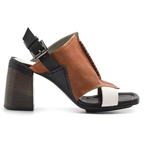 IXOS - High Heel Sandal in Multicolor Soft Leather - X18E15121MULAN Latte - 36