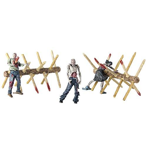 The Walking Dead Walker Barrier Building Set